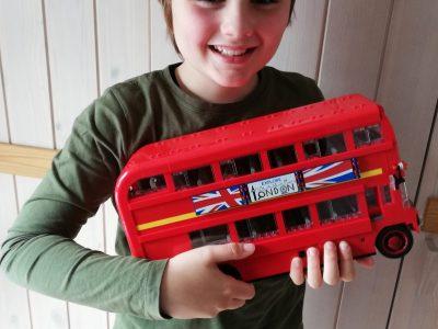 Hechingen Realschule  Irgendwann fahre ich mal mit einem richtigen London-Bus!!!