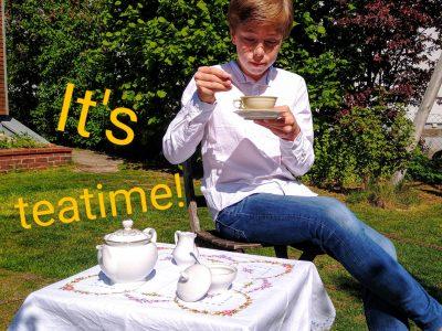Lüneburg Wilhelm-Raabe-Schule Very British - It's teatime!