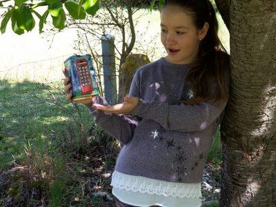 Ich sammle schon länger für eine Englandreise in meiner Spardose mit der typischen englischen Telefonzelle. Eine Kamera könnte ich da auch noch gut gebrauchen. Gymnasium Hilpoltstein