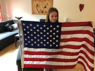 Heiligenhaus, Immanuel-Kant-Gymnasium  Das ist die Flage von meinen Eltern, Sie haben sie aus dem Urlaub aus Amerika. Ich darf sie jetzt benutzen. :)