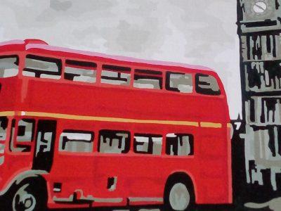 Julia Katharina Kulas , Siegburg ( NRW), Anno-Gymnasium Siegburg  I love to paint , especially the Downtown London . Someday I would like to visit London.