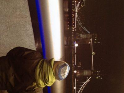 Aachen Kaiser Karls Gymnasium Das ist die Tower Bridge bei Nacht.