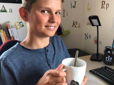 It´s tea-time, your majesty ! Luis Weber 5D Gymnasium Kirchheim