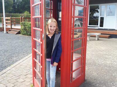 Johannes-Althusius Gymnasium Emden  Visit telephone box in Denmark!