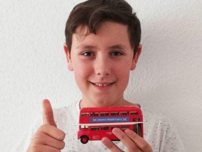 Asperg Friedrich-List-Gymnasium Das ist ein Londoner Bus