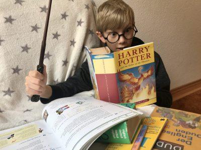 Dresden Gymnasium Klotzsche  The big challenge to read Harry Potter in english.