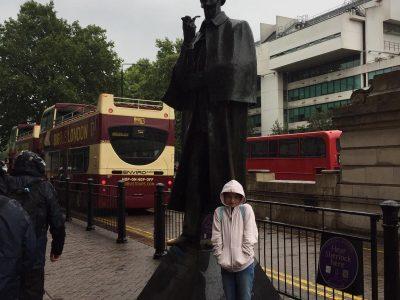 Bad Lippspringe, Gesamtschule, Meeting Sherlock a Baker Street Station