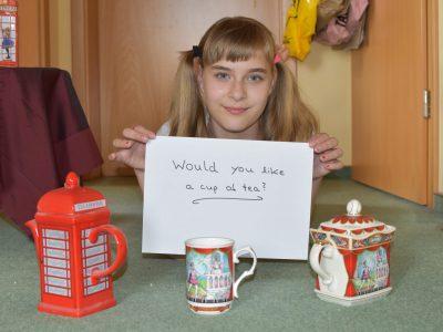 Klaus-Groth-Schule, Neumünster  Am Besten lernt es sich - juhee bei einer guten Tasse Tee!