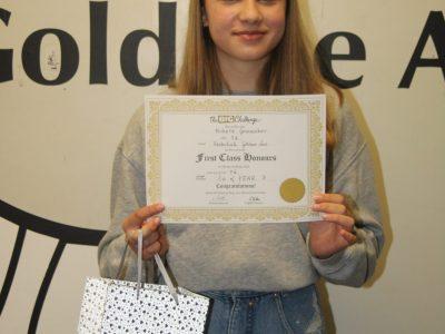 Gewinnerin Realschule Goldene Aue, Goslar