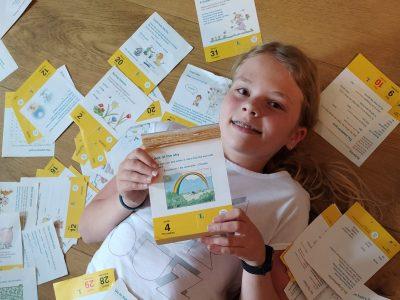 Grünstadt, Leininger Gymnasium Learning with the calendar - in english, please!