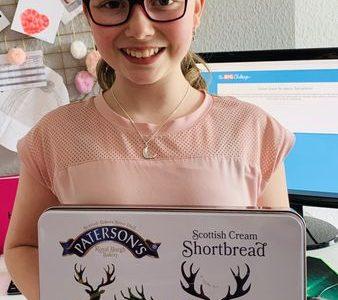 Willich, Robert-Schuman Europaschule  Das Shortbread habe ich bei meinem Edinburgh Urlaub im Februar 2020 mitgebracht. : )