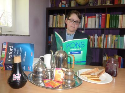 Salmtal, IGS Salmtal Tea Time, After The Big Challenge I needed a tea.