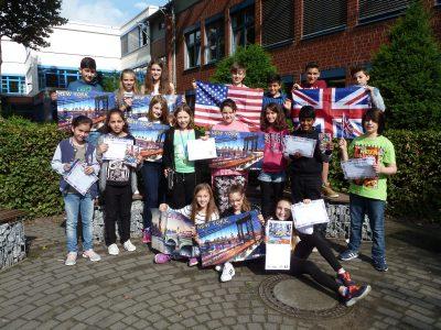 Rheda-Wiedenbrück, Osterrath-Realschule Well done, 5a!