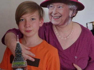 """Eschwege, Friedrich-Wilhelm-Schule: Granny says: """"It´s all to do with the training:  you can do a lot if you properly trained."""""""