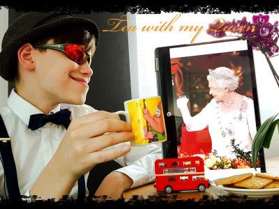 Weissach, Ferdinand-Porsche-Schule I had the best tea time with my Queen in my life - ever!