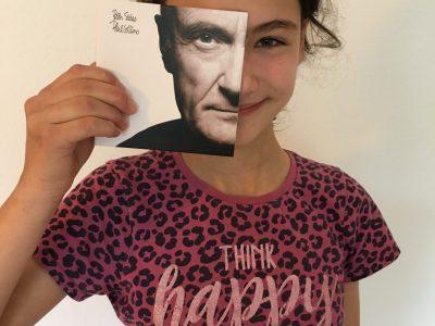 Mülheim, Gustav-Heinemann-Schule VERY BRITISH Phil Collins and me - think happy!