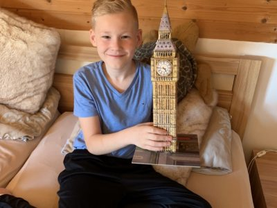 Kevelaer, Gesamtschule Big Ben als 3 D Puzzle von Phil Ripkens Klasse 5 d