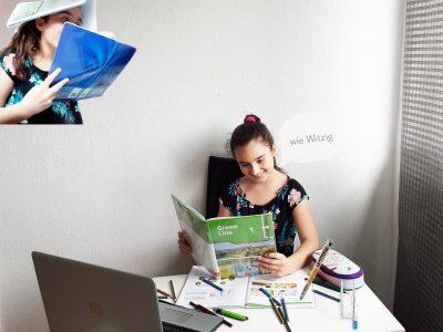 Duisburg. Steinbart-Gymnasium  Mit meinem Bild wollte ich zeigen das man Spaß am Lernen haben kann.