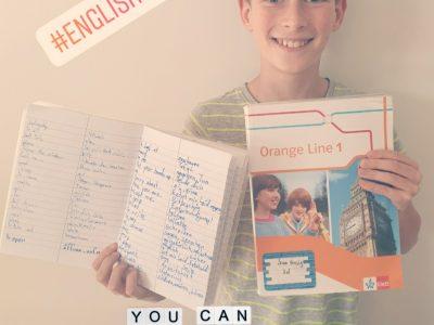 Ich bin Sam Hausig aus der Stahnsdorfer Heinrich-Zille-Grundschule. Englisch ist wirklich mein Lieblingsfach!