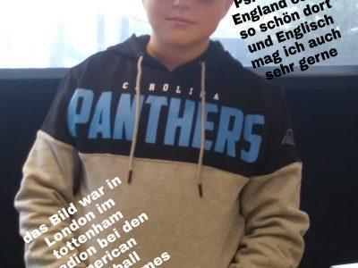 Stadt: Wolfsburg Vorname: Leandro Nachname: Stahr       Ich war bei dem Bild in London