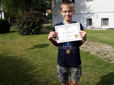 Niedersorbisches Gymnasium Cottbus We are proud of our winner in level 2. Good job, Pierre!