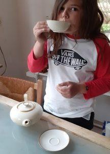 Herne, Hiberniaschule  It`s teatime