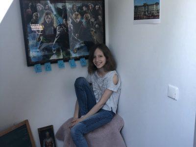 Haltern am See, Joseph-König-Gymnasium  Mit Harry Potter fing alles an, dann die Reise mit meinen Eltern alleine nach London. ;-) (Ich habe nämlich noch Geschwister...)  Das war soooo toll! Nice!