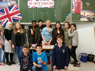 Landfermann-Gmynasium Siegerehrung Klasse 7d (Herr Reuber)