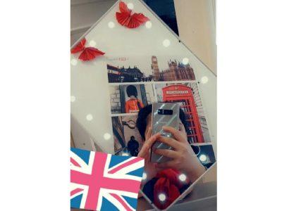 Kusel Siebenpfeiffer-Gymnasium  Ich sah London in meinem Spiegel. i♡englisch.