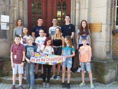 Rudolstadt, Gymnasium Fridericianum: Die besten Teilnehmer der Klassenstufen 5-9