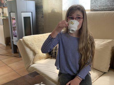 Hamm, Gymnasium Hammonense Teatime - with tea and scones :-)