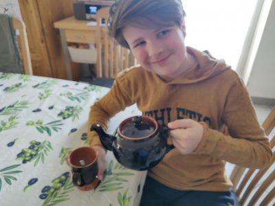 Freiherr-vom-Stein Gymnasium Weferlingen ...nach der Challenge-Teilnahme eine wohlverdiente Tasse (koffeinfreien ;-) English Breakfast Tea!
