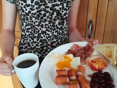 Wiesloch, Ottheinrich-Gymnasium, English Breakfast zur Stärkung für den Wettbewerb :-)