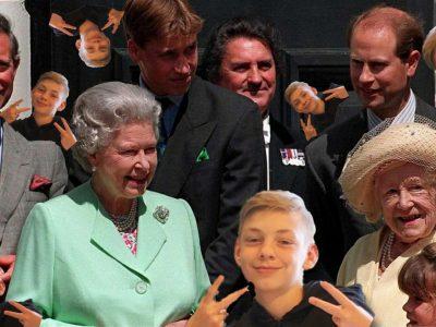 Bad Bederkesa, NIG Bad Bederkesa. Me and the boys with the royale family.