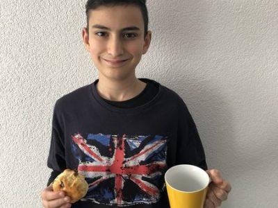 Geislingen an der Steige  ***** Michelberg Gymnasium****                                   My Tea time and my breakfast before i go to my School Migy
