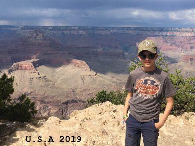 31515 Wunstorf, Evangelische IGS Wunstorf, Die Amerikareise mit meiner Familie war das größte Erlebnis, das ich erlebt habe. Wir waren unter anderem auch bei Mount Rushmore, im Yellowstone National Park und in den Rocky Mountains.