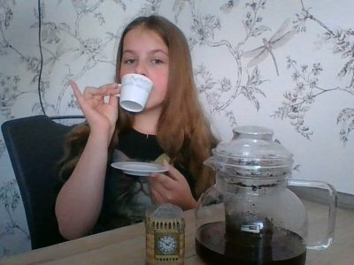 tea at 4 o`clock