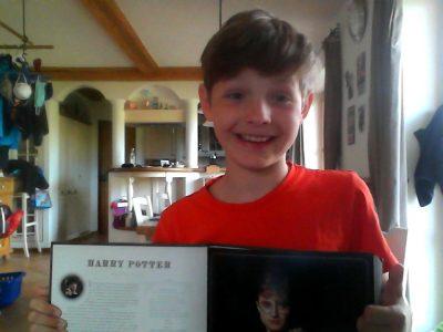 "Johannes Heidenhain GymnasiumTraunreut Toni Lackner   ""I like Harry Potter"""
