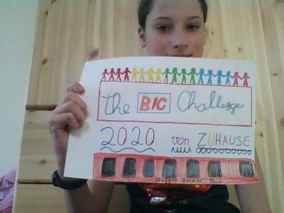 Aachener Inda-Gymnasium  Ich dachte mir wenn wir schon einmal bie the big Chellange sind können wir da auch bleiben