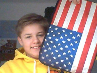 Krefeld Gymnasium Fabritianum  Die Amerikanische Flagge und ich