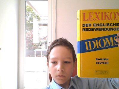 Stuttgart plieningen Paracelsus Gymnasium Hohenheim  Idioms sind englische redewendungen.
