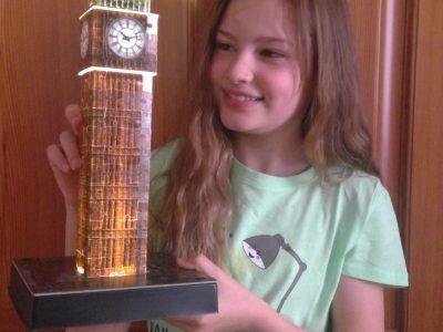 BISMARCK-GYMNASIUM GENTHIN  Der Big Ben hautnah!
