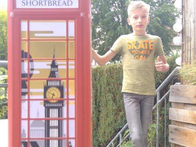 """Bochum, Matthias-Claudius-Schule Bochum """"Britischer Kurzbesuch im Bochumer Garten"""""""