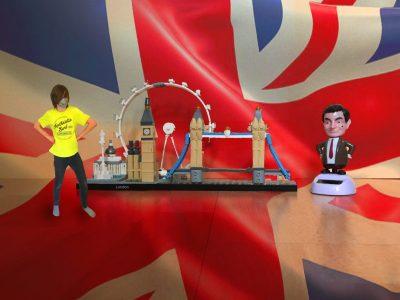 Berlin, Immanuel-Kant-Oberschule  Mr. Bean ist persönlich aus London angereist und ich liebe halt London. Und Lego liebe ich auch, so kann man das gut verbinden.