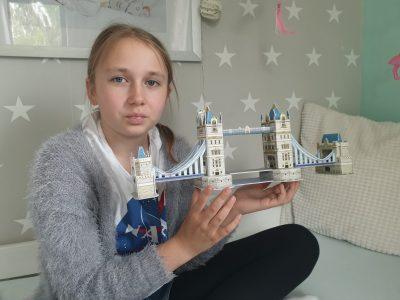 Eschwege, Friedrich-Wilhelm-Schule Tower Bridge in London und ich!