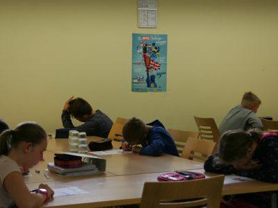 Sekundarschule Soest in Soest / Westfalen  Alle Schülerinnen und Schüler waren mit großem Eifer bei der Sache.