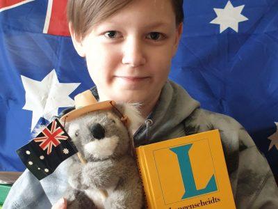Niedersorbisches Gymnasium aus Cottbus. Australien ist meine heimliche Liebe und ein fantastischer Kontinent. Gruß Julius Eichler
