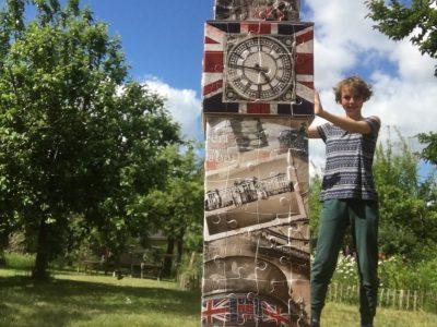 Stralsund     Jona-Schule Ich wollte schon immer mal nach England reisen. Da das momentan ja nicht geht, hat meine Familie mir ein Big Ben Puzzle mit Londonmotiven geschenkt.