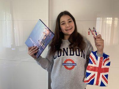 Ludwigsburg, Gottlieb-Daimler Realschule Klasse 5c  I love shopping in London!