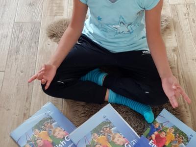 Mosbach / Auguste Pattberg Gymnasium  Nach dem Yoga geht es weiter